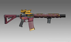 Suicide Squad Weapons: Deadshot's Custom AR-15