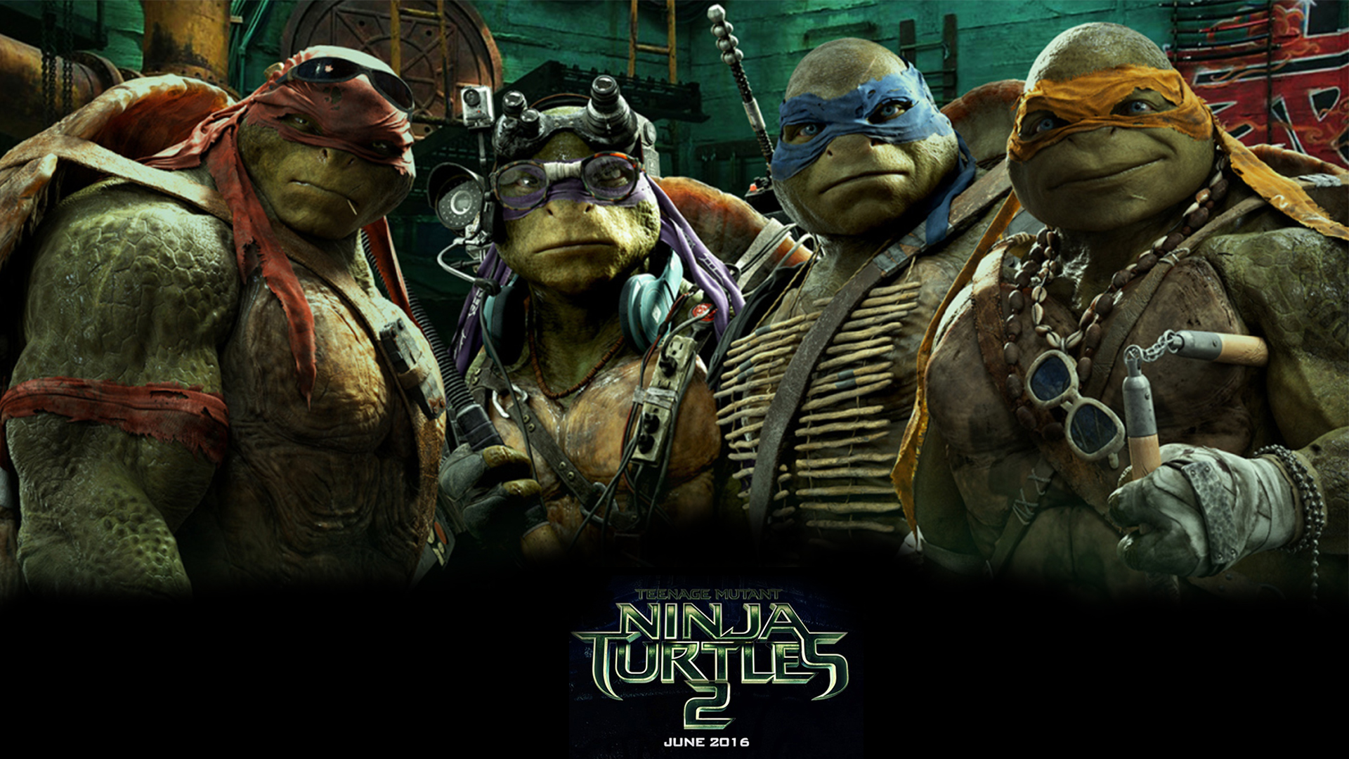 Teenage Mutant Ninja Turtles Out Of The Shadows Desktop Wallpaper