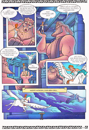 Walt Disney Movie Comics - Hercules (Danish 1997 Version)