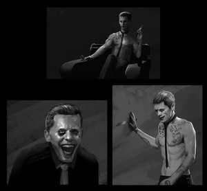 'Suicide Squad' Concept Art ~ The Joker
