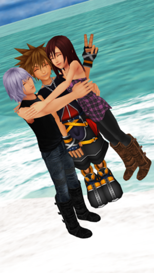 destiny islands trio sora kairi and riku