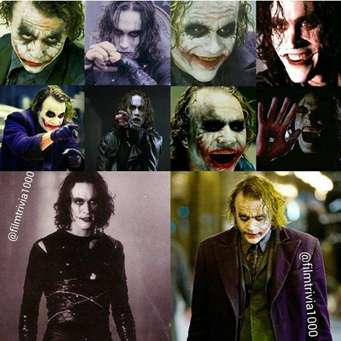 A Battle: the Crow and the Joker