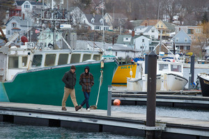 Casey Affleck as Lee Chandler in Manchester by the Sea