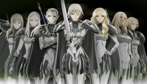 claymore achtergrond