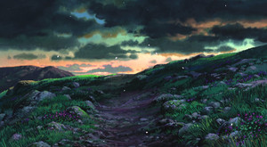 Howl's Moving château Scenery