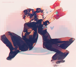 Karkat and Terezi
