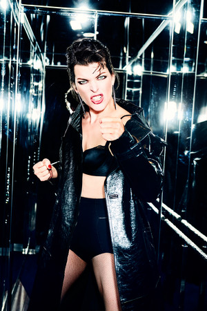 Milla Jovovich - Vanity Fair Italy Photoshoot - 2016