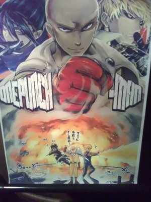 One ngumi, punch Man Poster