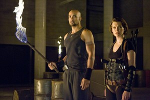Resident Evil: Afterlife - Luther and Alice