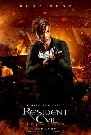 Resident Evil: The Final Chapter - Character Poster - Abigail