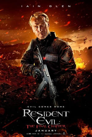 Resident Evil: The Final Chapter - Character Poster - Dr. Isaacs