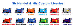 Sir Handel Custom Liveries