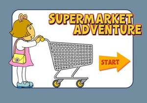 The supermarché Adventure game