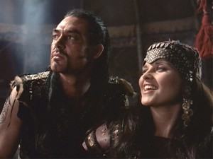 Xena and Borias