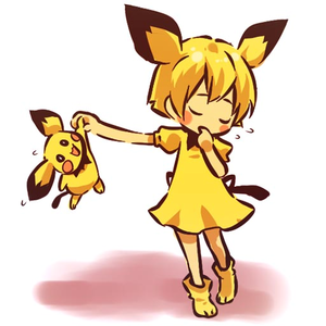 Pichu and...its human form