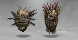 'Suicide Squad' Designs ~ Enchantress's jantung