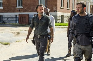 7x09 ~ Rock in the Road ~ Rick, Michonne, morgan and Richard