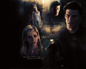 Angel/Buffy Wallpaper - You Have A Heart?