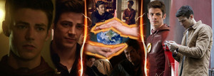 Barry Allen / The Flash protects the world!!!