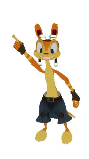 Daxter Dance Time with Pants MMD