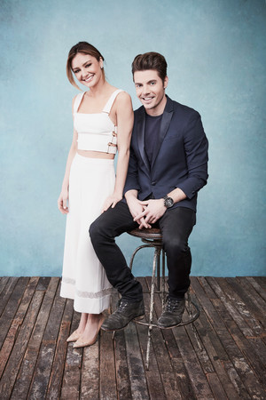 Josh Henderson and Christine Evangelista ♡ 2017 Portrait