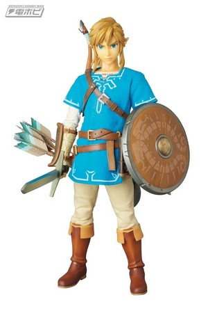 Legend of Zelda:Breath of the Wild - Link Action Figure