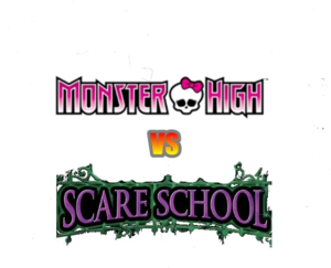 Monster High vs. Scare School (Logo)