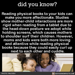 読書 and Bonding with your Children