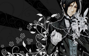 Sebastians Wallpaper   Kuroshitsuji Wallpaper 4105378   Fanpop
