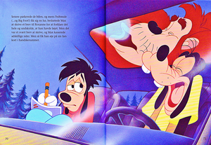 Walt Disney Book Scans – A Goofy Movie: The Story of Max Goof (Danish Version)