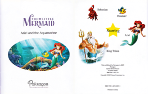Walt Disney Books – The Little Mermaid: Ariel and the Aquamarine Jewel (English Version)