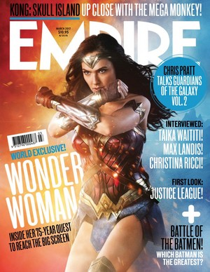 Wonder Woman - Empire Magazine Cover - March 2017