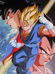 Son Goku and Vegeta - san