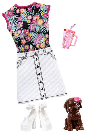 2017 Barbie dauphin Magic Fashion Pack BYO Barbeque