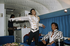 Backstage On Victory Tour