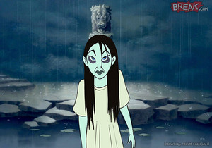Disney Princesses as horror movie villains 11 3