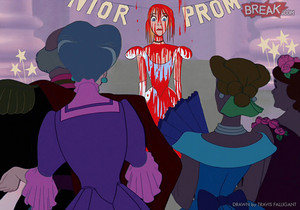 Disney Princesses as horror movie villains 11 9