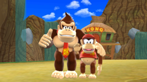 Donkey and Diddy Kong MMD