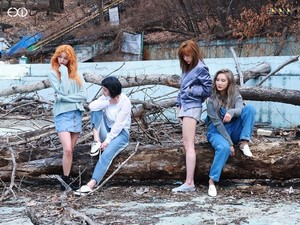 EXID Bangtan Boys pics from 'Arena Homme Plus' comeback pictorial