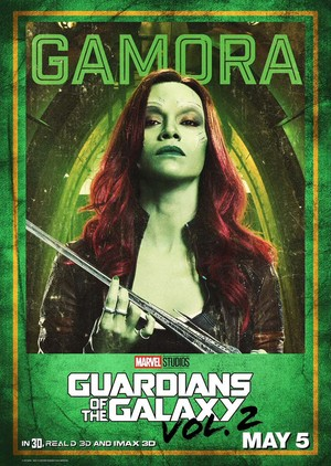Guardians Of The Galaxy Vol. 2 ~ Character Poster - Gamora