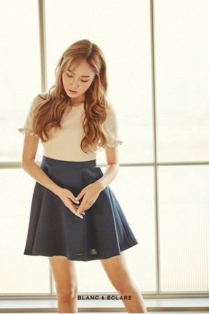 Jessica - blanc and Eclare x 1st Look Shop