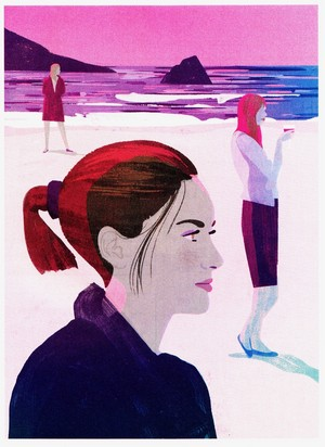 Keith Negley s illustration for Emily Nussbaum s review of Big Little Lies in this week s New York
