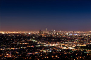 Los Angeles - Skyline at Night