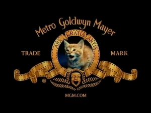 Mimsie the MTM cat in the Metro Goldwyn Mayer logo