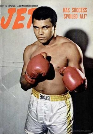 Muhammad Ali On The Cover Of Jet