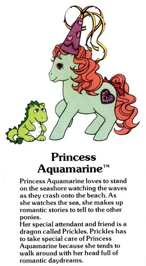 Princess Aquamarine Fact File
