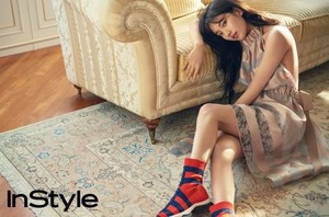 Suzy for InStyle Magazine 2017 April Issue