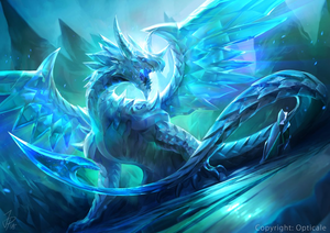The Legendary Crystal Dragon