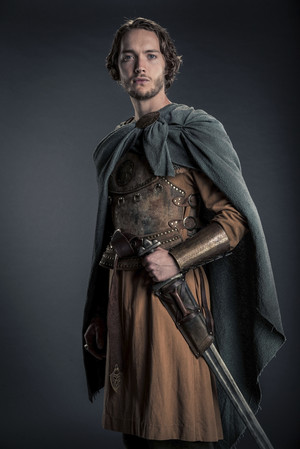 Toby as Aethelred in 'The Last Kingdom'
