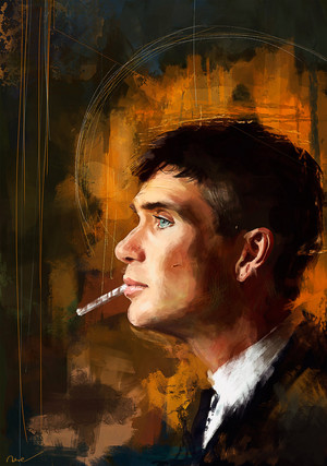 Tommy Shelby ファン art